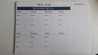 Meal Planning - Wilko Planner