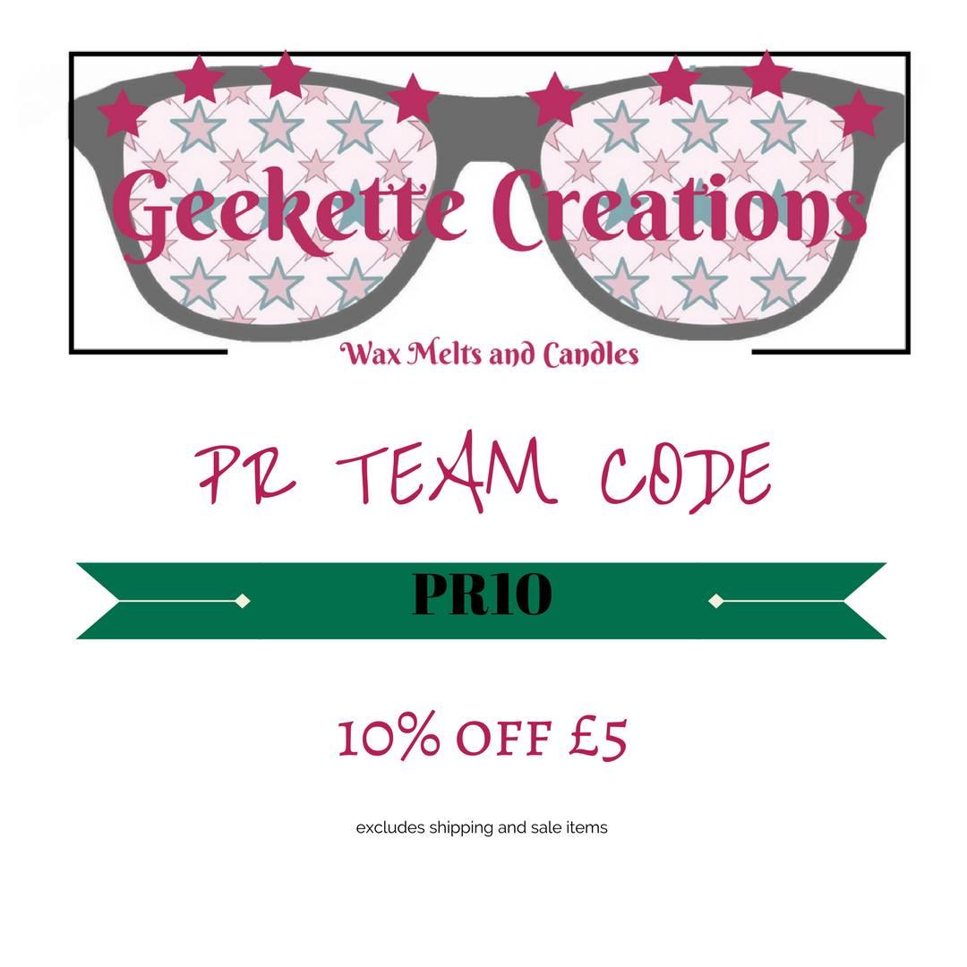 Geekette Creations PR Code