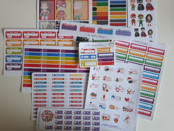 Happy Mail - Sticker Haul - The Geeky Planner