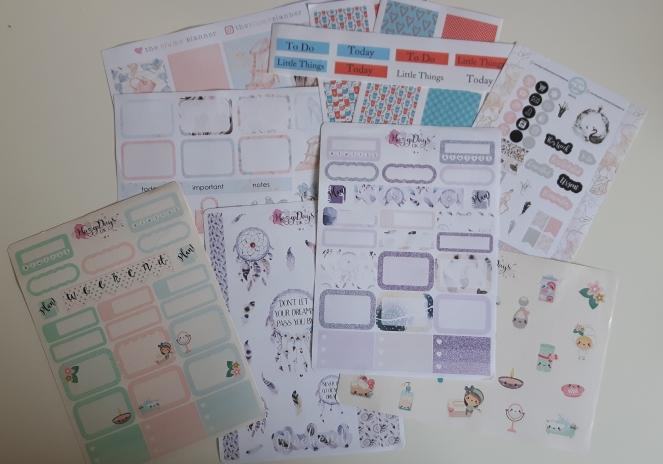 Happy Mail - Sticker Haul - Destash